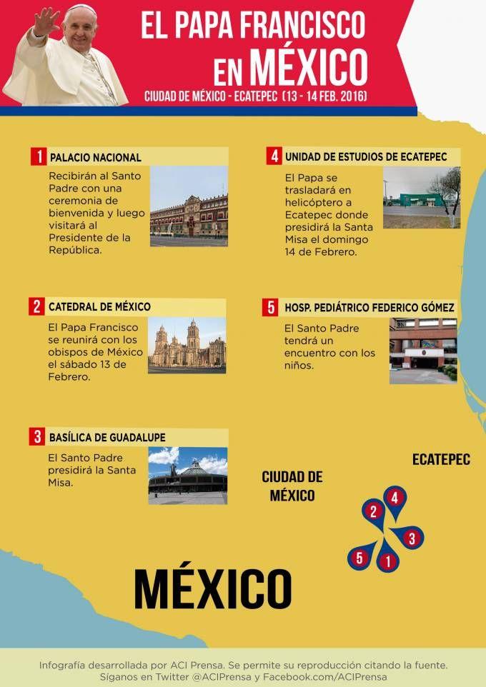 Viaje del Papa Francisco a México: Últimas Noticias