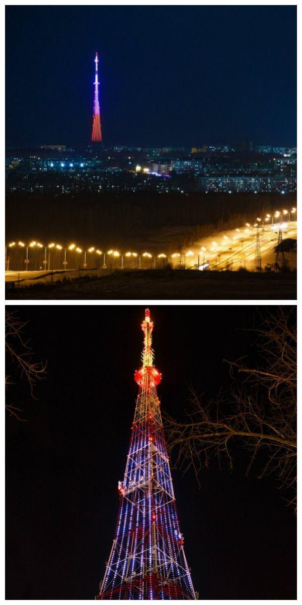У Нижнекамска появилась новая визитная карточка – телевизионная башня, переливающаяся 16 миллионами цветов Philips. #подсветка #светодиоднаяподсветка #освещение #светодиодноеосвещение #архитектурнаяподсветка #архитектурнаясветодиоднаяподсветка #подсветкателевизионнойбашни #телевизионнаябашнясподсветкой #подсветказданий #декоративнаяподсветка #освещениезданий #светодиоды #lednews