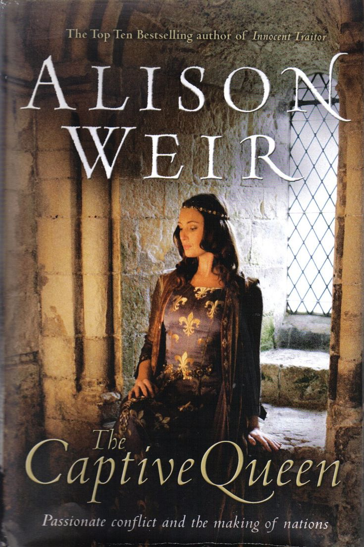 Another Cover For The Captive Queen By Alison Weir