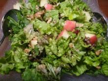 Check this SALAD! It is a fresh green salad loaded with nuts and fruits So special! So delicious! So simple! For details on the recipe click on the photo.