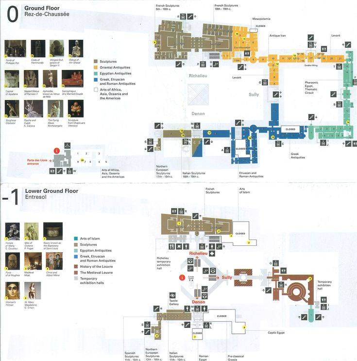 museum pari floor map - Google 検索