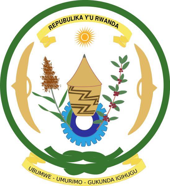 File:Coat of arms of Rwanda.svg