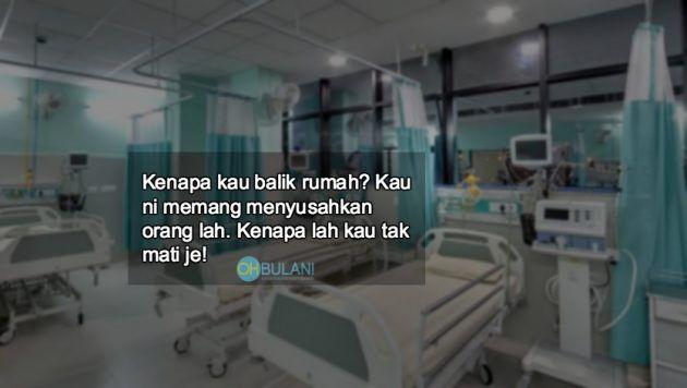 Wanita ini bantu pesakit leukemia balik ke rumah tapi alih-alih kena maki! Kesiannya sampai hati buat anak yang sakit macam tu?   Wanita ini bantu pesakit leukemia balik ke rumah tapi alih-alih kena maki! Kesiannya sampai hati buat anak yang sakit macam tu?  Sayu hati kami apabila membaca kisah wanita ini yang menceritakan pengalamanmenumpangkan seorang pesakit leukemia pulang ke rumah dari sebuah hospital di Johor Bahru.  Tambah menyedihkan apabila setibanya di rumah keluarga pesakit…
