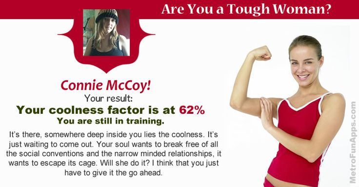 Are you a tough woman? Let's find are you a tough woman.