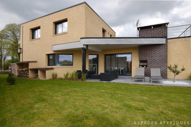 Premesques Villa Cubique Epuree Agence Ea Lille Espaces