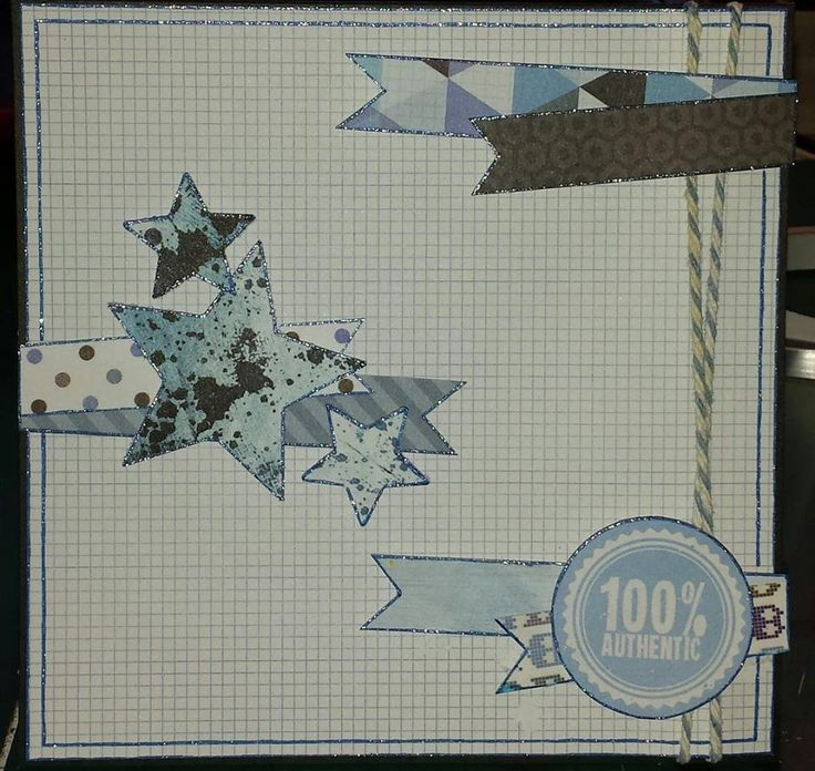 Square Card - Kaisercraft Off The Wall collection ~Karyn Watton