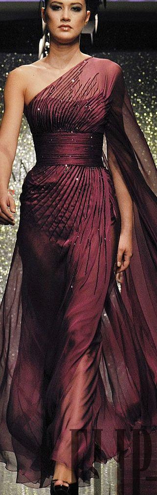 Rami Al Ali, F/W 2009-10 I especially love the model's shoulders. More muscular!