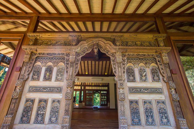 Villa Mawar | 6 bedrooms | Tabanan #javanese #carving #door #gym #Bali 15 minutes from #GregNorman Designed #Championship Nirwana #GolfClub