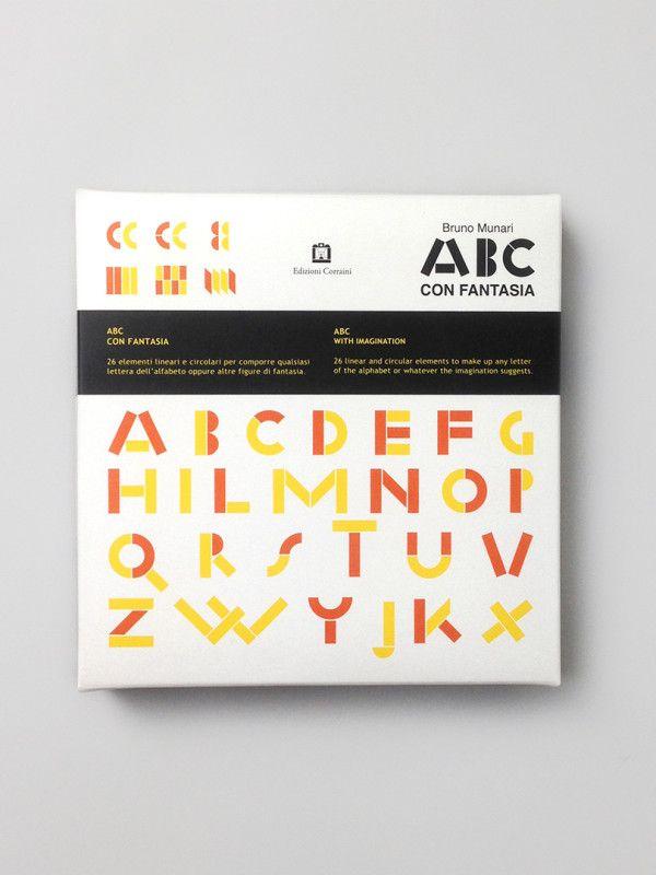 ABC with imagination by Bruno Munari