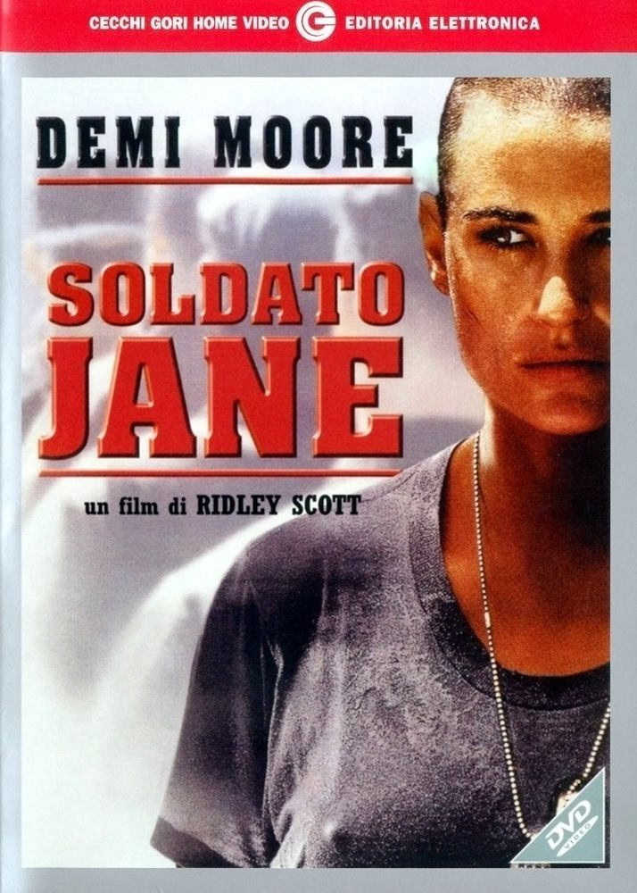 """Soldato Jane (2000) DVD """"DRAMMATICO"""" (Demi Moore)"""