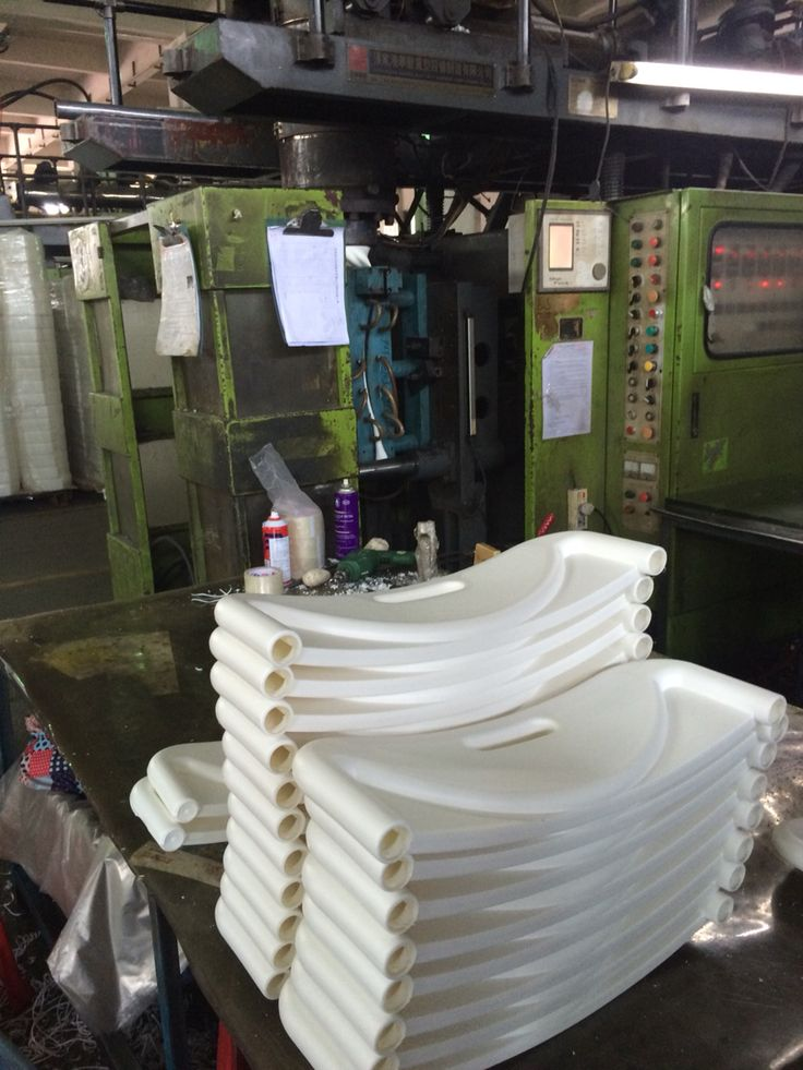 Plastic moulds being made at Poon factory
