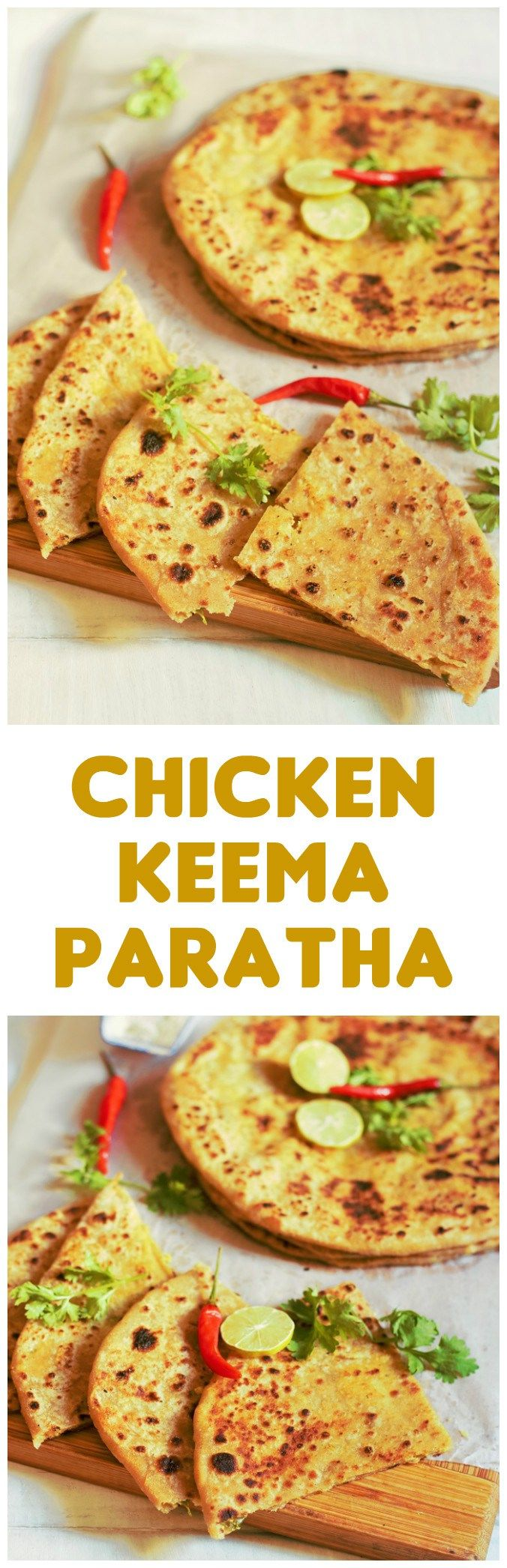 Chicken Keema Paratha Recipe-How to make chicken keema paratha-An awesome…
