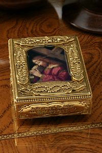 Christ Bearing the Cross Rosary Box $65.00 http://www.celebrateyourfaith.com/Christ-Bearing-the-Cross-Rosar-P97C183.cfm