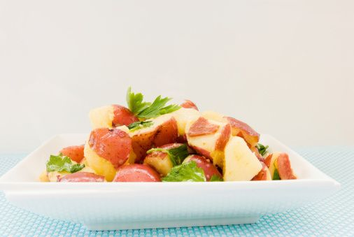 Yukon gold potatoes, Potato salad and Sausages on Pinterest