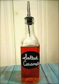 tales from a cottage: Salted Caramel Syrup for Coffee, Lattes, and Hot Chocolate