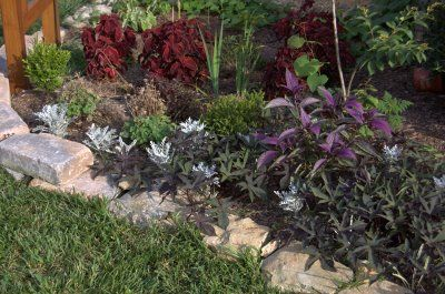 Growing The Home Garden: Gardening in the Home Landscape: Using Stone for Garden Borders