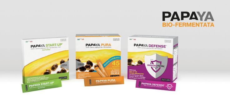 Papaya - 100% Papaya bio-fermentata! Archivio   ZUCCARI