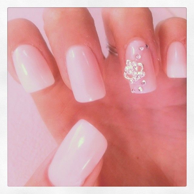 Tiara manicure jewel from www.nailcandi.co.za - The first re-usable nail art! Simply glue onto nailbed or embed in product (gel, gelpolish, acrylic or glaze.)  Order online