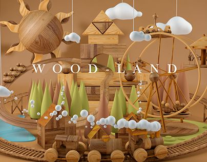 "Check out new work on my @Behance portfolio: ""WOOD-LAND"" http://be.net/gallery/37662181/WOOD-LAND"