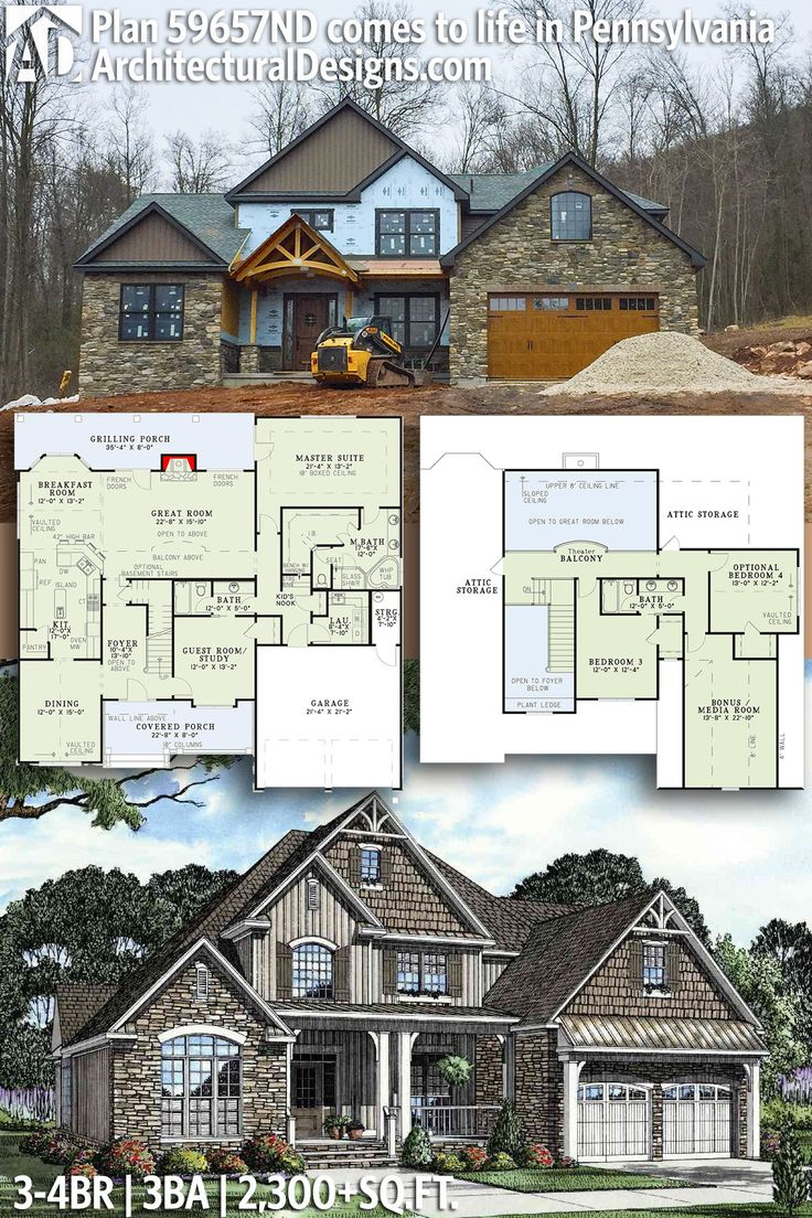 Architectural Designs House Plan 59657ND comes to