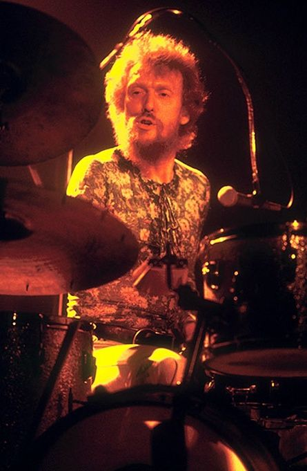 Ginger Baker: The Baker Gurvitz Army perform at the Oxford New Theatre in February 1975
