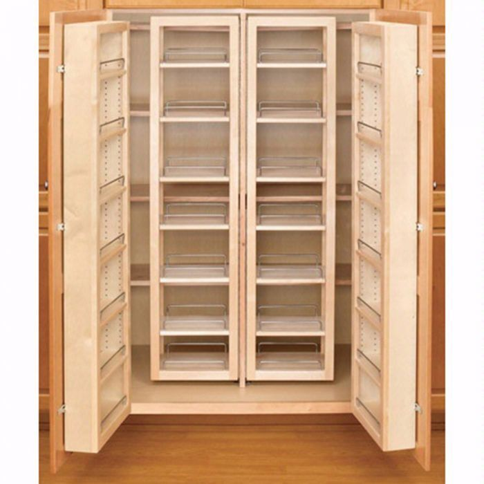 Swing Out Complete Pantry System Rev A Shelf 4w Series Swing Out Single Units Diy Pantry Organization New Kitchen Cabinets Rev A Shelf