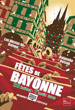 Fêtes de Bayonne.