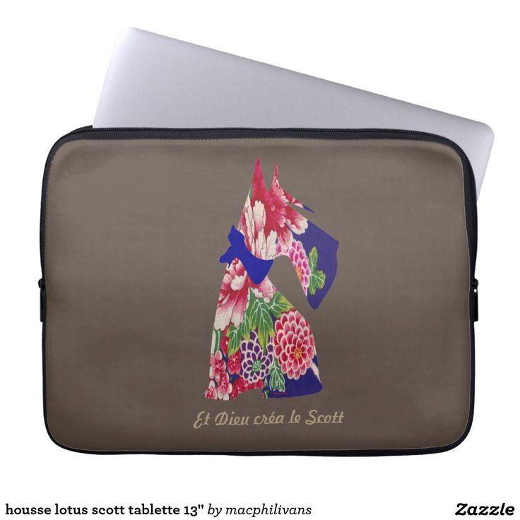 """housse lotus scott tablette 13"""" trousses pour ordinateur portable"""