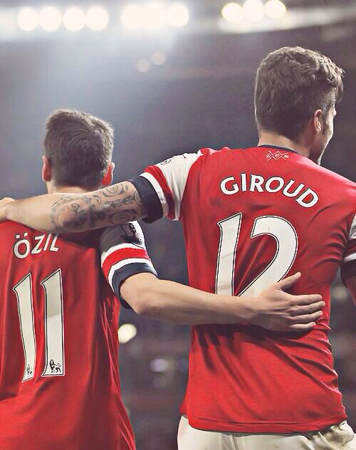 Özil & Giroud Arsenal FC ❤️⚽️
