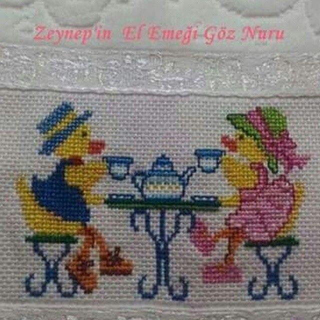 Zeynep'in El Emeği Göz Nuru Mutfak havlusu