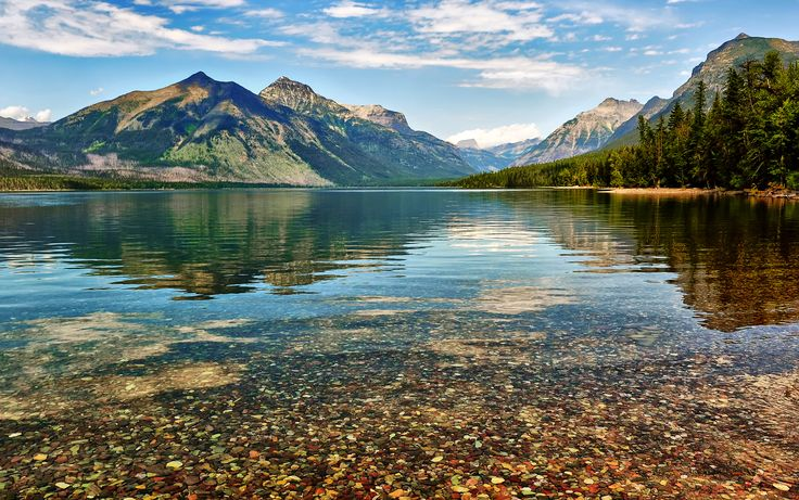 Montana: Lake McDonald   The most beautiful places in each state