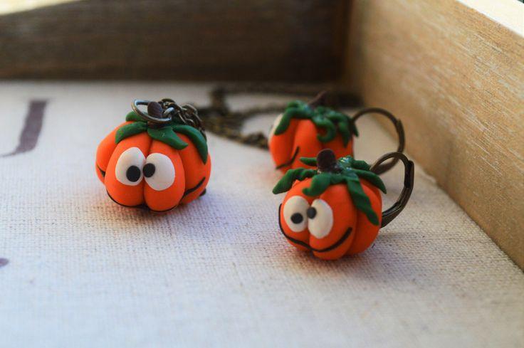 Buy at https://www.etsy.com/ca/listing/465476436/pumpkin-jewellery-fall-jewellery-funny