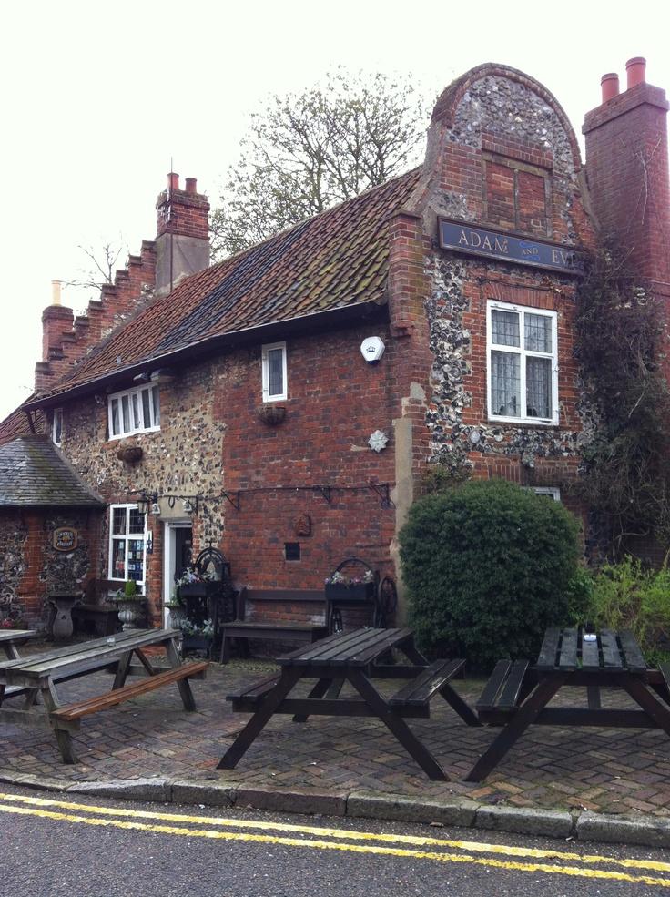 Adam and Eve Pub, Norwich England