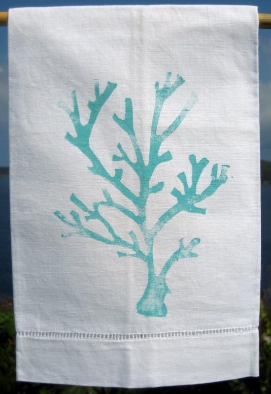 Turqoise Blue Coral Beach Bath Pinterest Guest