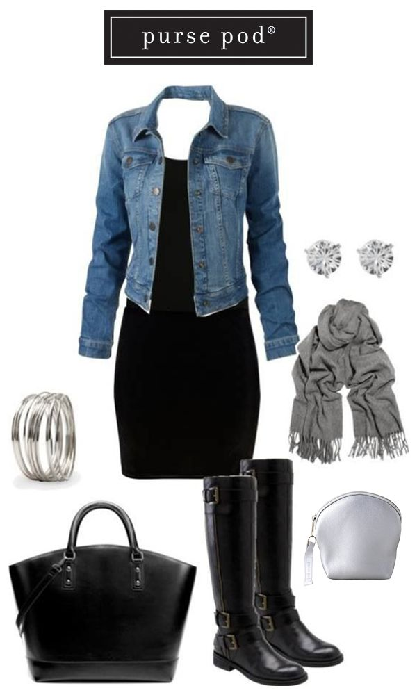Add some flash to your #FallFashion with the Silver Lining Purse Pod. #PursePod