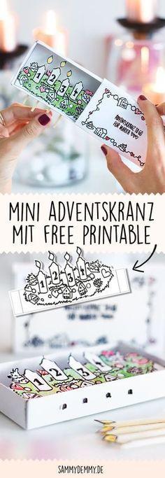 DIY Adventskranz, Adventskranz Selber Machen, Adventskranz Basteln,  Weihnachtsdeko, Ideen Weihnachten, Kranz