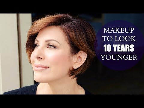 Simple Makeup Tips To Look 10 Years Younger - YouTube