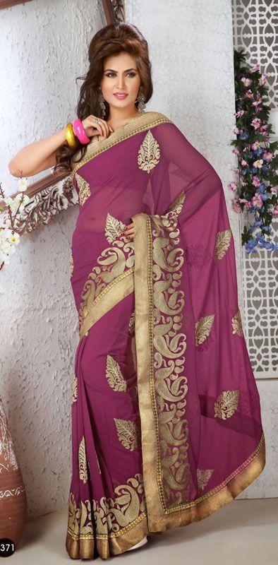 Gazri Color Chiffon Bollywood Saree TYSD5371. Save: 5% off