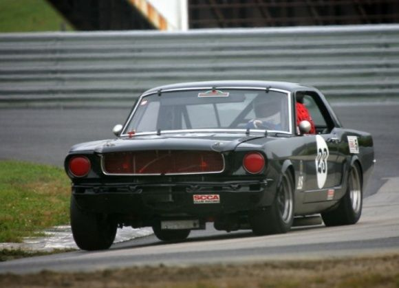 Ford Mustang Scca Vintage Race Car Coupe For Sale Corner