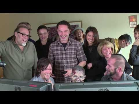 ▶ The Walking Dead | pranking Daryl / Norman Reedus (2014) - YouTube