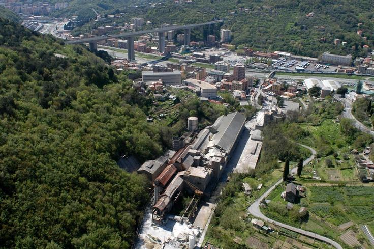 Val Bisagno, ex Italcementi: nasce un nuovo centro commerciale