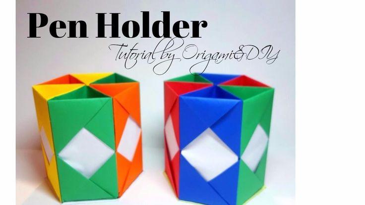 DIY: Pen Holder (Easy) | Tutorial for beginners! | VERY USEFUL