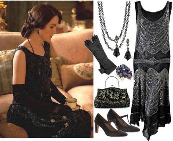More Downton Abbey clothes...