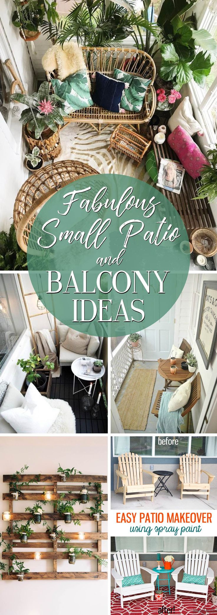 Make the Most of a Limited Space with these 19 Fabulous Small Patio and Balcony …   – beach patio porch