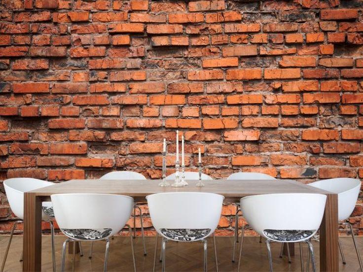 home decor design wall texture dining - Interieur Mit Rustikalen Akzenten Loft Design Bilder