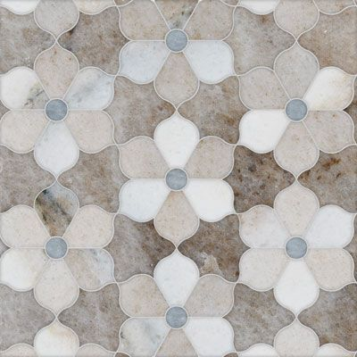 Tile design, Marble Mosaics. Fluid, arabesque, intertwining, lacework in stone and marble. The new TalyaT Collection consists of beautiful, fine mosaic artwork by Sara Baldwin.