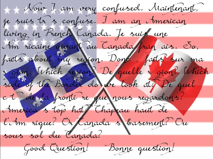 -America was founded in 1865.   -Canada is bigger in land mass then America.   -The President of Canada is a Moose.   Which do you think is true?