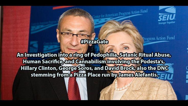 #PizzaGate the Documentary, Pedophilia involving Podesta Emails, Clinton...