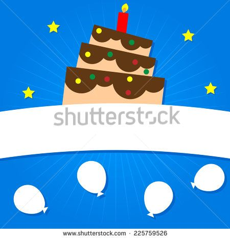Illustration Vector Graphic of Birthday Background (ID: 225759526)