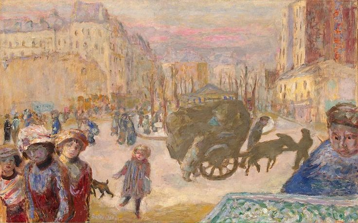 Pierre Bonnard (French, Les Nabis, 1867-1947): Morning in Paris, 1911. - Google Search